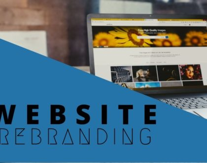 Five reasons why you should rebrand your business website