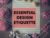 Five necessary Web design etiquette